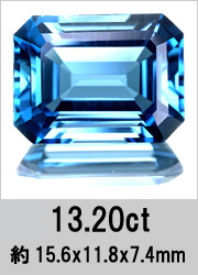 【大量入荷♪】13.20ct ロンドンブルートパーズ ルース 【10月29日22時販売開始】