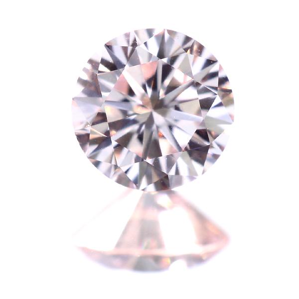 [TYPE2A] 0.167ct VERY LIGHT PINK VS-1 ピンクダイヤモンド ルース