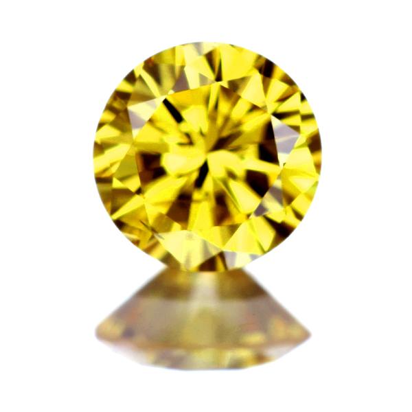 0.255ct FANCY VIVID YELLOW SI2 イエローダイヤモンド ルース