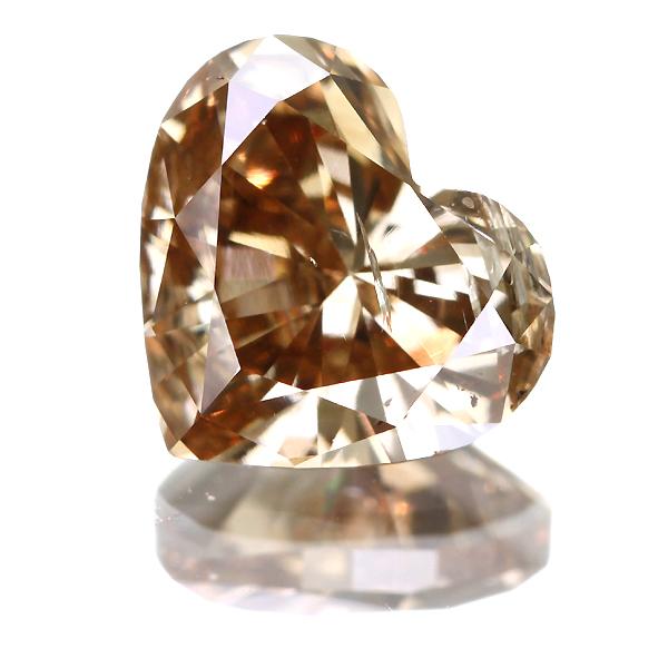 ハートシェイプカット ブラウンダイヤモンド 1.27ct 【日替わりルース】【5月25日22時販売開始】