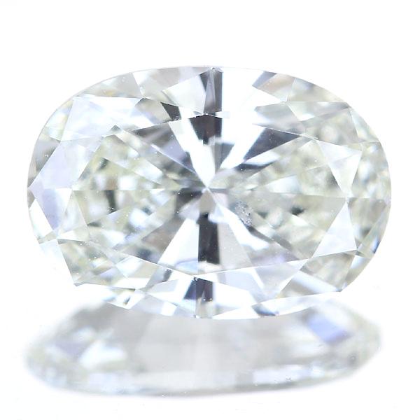 1.008ct VERY LIGHT YELLOW SI1 OV イエローダイヤモンド ルース※中央宝石研究所ソーティングシート付