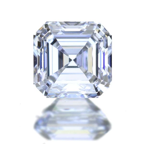 0.582ct D IF エメラルドカット / アッシャーカット ダイヤモンド ルース ※GIA鑑定書付き