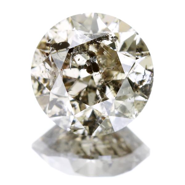 2.508ct LIGHT BROWN I2 FAIR ブラウンダイヤモンドルース※中央宝石研究所ソーティングシート付