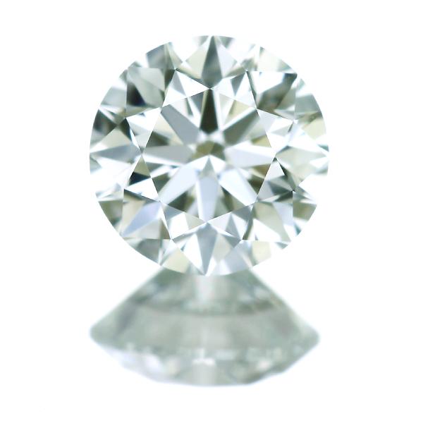0.309ct VERY LIGHT GREEN VVS2 ダイヤモンド ルース
