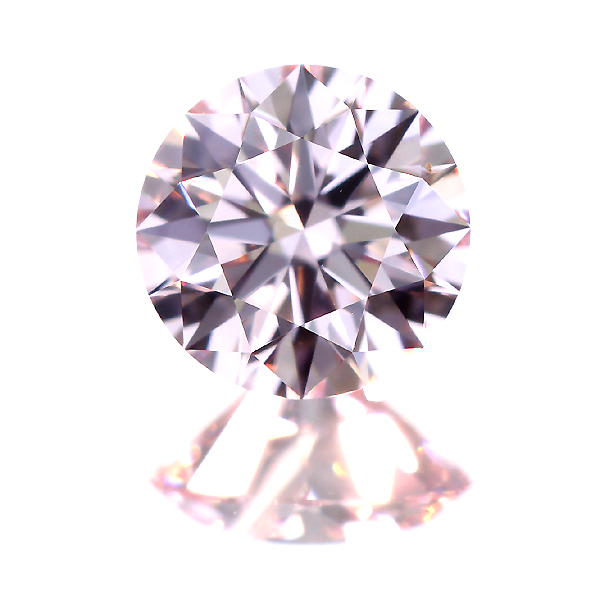 【TYPE2A】0.314ct FANCY LIGHT PURPLISH PINK IF H&C ダイヤモンド