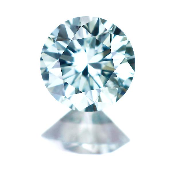 0.214ct Fancy Deep Green Blue SI2 ブルーダイヤモンドルース (※人為的照射)