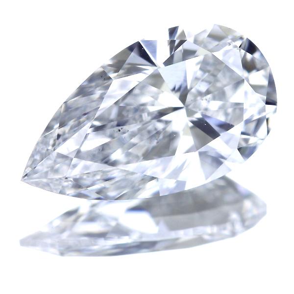 1.08ct D VS2 ペアシェイプカット ダイヤモンド