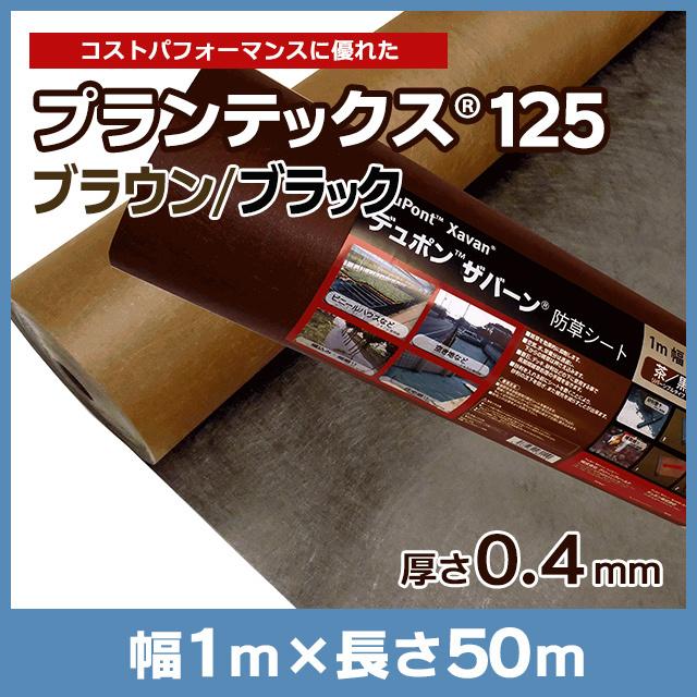 プランテックス(旧ザバーン)125BB(ブラウン/ブラック)1m×50m