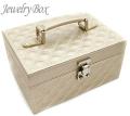 ジュエリーボックス JewelryBox キルティング 宝石箱 JB-9100 シャンパンゴールド