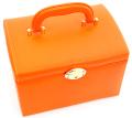 【ジュエリーボックス】 JewelryBox 宝石箱 JB-8200 オレンジ×ゴールド【送料無料】