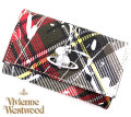 VivienneWestwood ヴィヴィアンウエストウッド 51020001 10802 O102 DERBY 6連キーケース チェック柄 SPLASHES NEW EXHIBITION