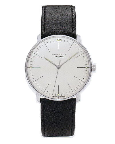 ユンハンス・マックスビル・オートマチック(アワーマーカー) 0273501正規品 腕時計