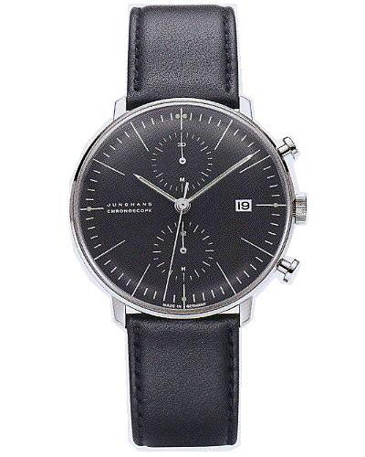 ユンハンス・マックスビル・クロノスコープ0274601正規品 腕時計
