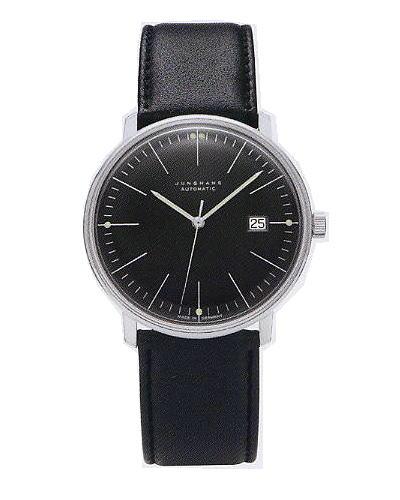 ユンハンス・マックスビル・オートマチックデイト(アワーマーカー) 0274701正規品 腕時計