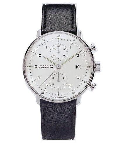 ユンハンス・マックスビル・クロノスコープ(ヌメラルズ)0274800正規品 腕時計