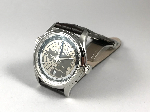 ハミルトン・ジャズマスター GMT H32605581 正規品 腕時計