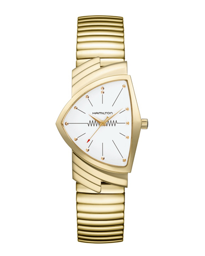 ハミルトン ベンチュラ(フレックス蛇腹ベルトモデル) H24301111 正規品 腕時計