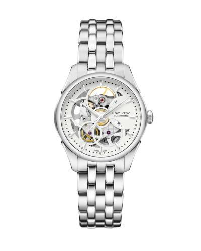 ハミルトン・ジャズマスター・スケルトンレディ H32405111 正規品 腕時計