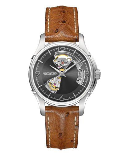 ハミルトン・ジャズマスター・オープンハート H32565585 正規品 腕時計