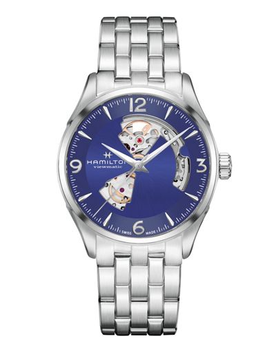 ハミルトン・ジャズマスター・オープンハート42mm H32705141 正規品 腕時計