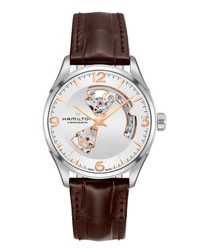 ハミルトン・ジャズマスター・オープンハート42mm H32705551 正規品 腕時計