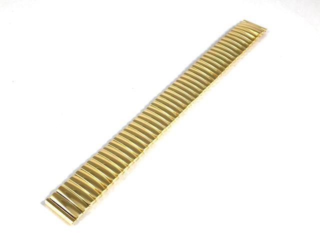 ハミルトン純正ベルト17mm/ベンチュラ用イエローゴールドPVD・フレックスベルトH605242102