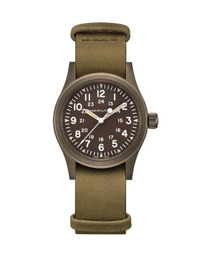 ハミルトン[HAMILTON]カーキ・フィールド・メカ アースカラーPVD H69449861 正規品 腕時計