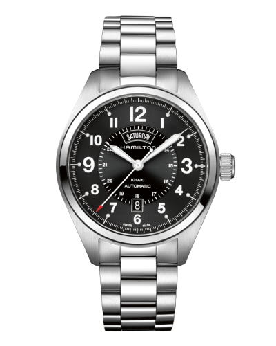 ハミルトン カーキ・フィールド・デイデイト42mm H70505133 正規品 腕時計