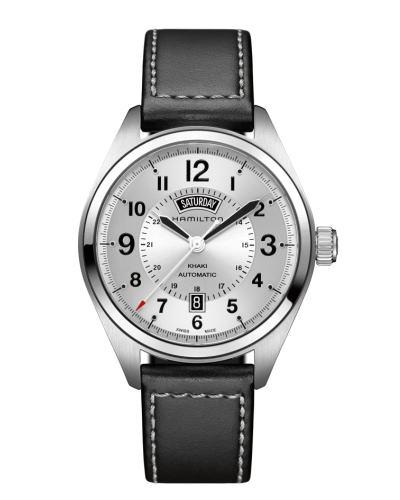 ハミルトン カーキ・フィールド・デイデイト42mm H70505753 正規品 腕時計