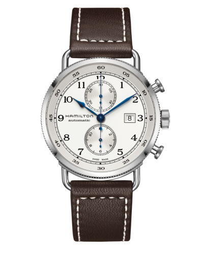 ハミルトン・カーキネイビーパイオニア オートクロノ H77706553 腕時計