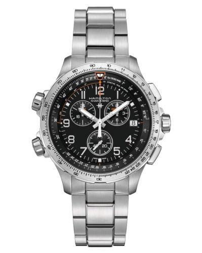 ハミルトン[HAMILTON] カーキ・エックスウインドGMT H77912135 正規品 腕時計