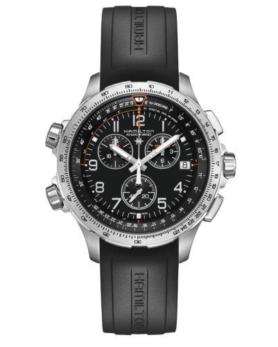 ハミルトン[HAMILTON] カーキ・エックスウインドGMT H77912335 正規品 腕時計