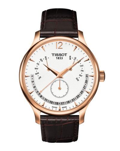 TISSOT ティソ トラディション パーペチュアルカレンダー t063.637.36.037.00 正規品 腕時計