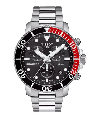 TISSOT ティソ シースター1000クロノグラフ T120.417.11.051.01 正規品