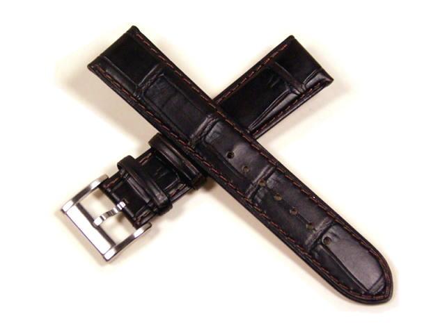 ハミルトン純正ベルト20mm/ジャズマスター・オープンハート用ブラックカーフベルトH600325112