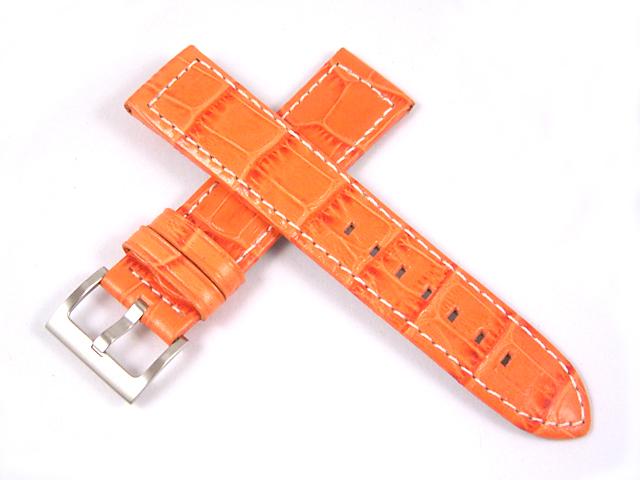 ハミルトン純正ベルト21mm/カーキGMTエアレース用オレンジプレスカーフH600776113
