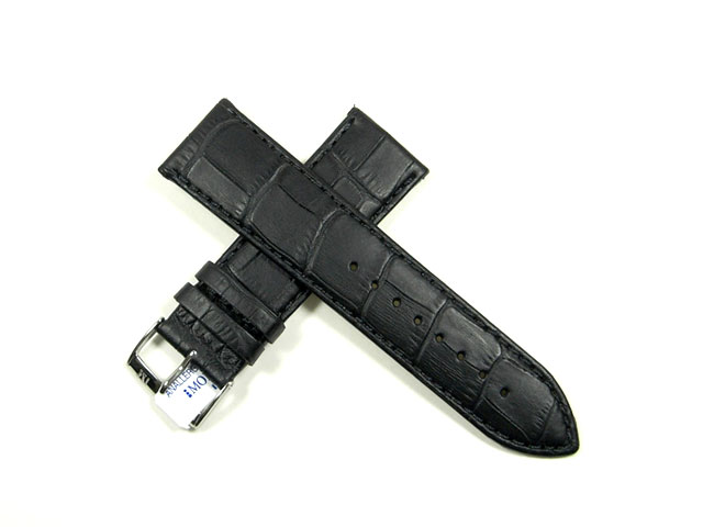 時計バンド・モレラート ボーレ 24mmカーフ(アリゲーター型押)