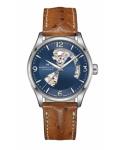 ハミルトン・ジャズマスター・オープンハート42mm(オーストリッチベルト) H32705541 正規品 腕時計