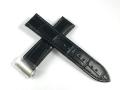 ハミルトン純正ベルト22mm/スピリット オブ リバティ(旧型)用ブラックカーフベルトH600325115