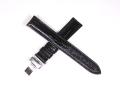 ハミルトン純正ベルト17mm/ベンチュラ用ブラックプレスカーフベルトH600244101