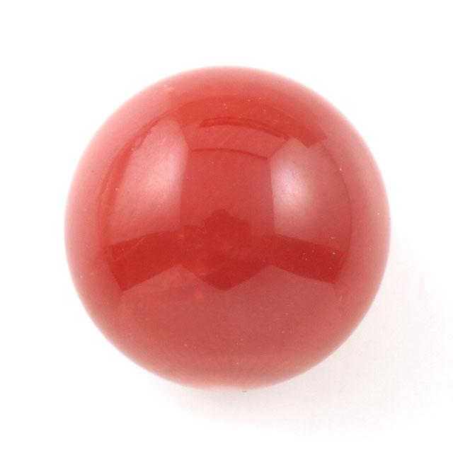 天然サンゴ ルース(裸石) 7.520ct 球形 ( 赤珊瑚 さんご レッド・コーラル coral ) 日本宝石科学協会ソーティング 5月5日 11月15日 誕生日石 3月 誕生石 送料無料