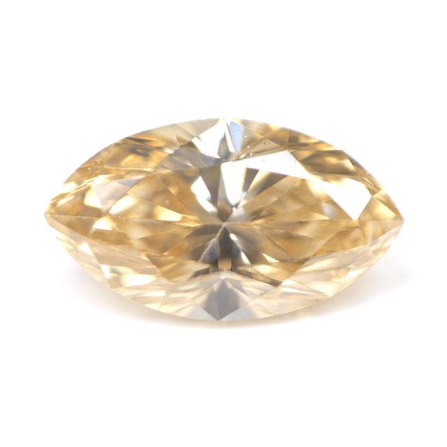 天然イエローダイヤモンド ルース(裸石) 0.353ct, Fancy Orange Yellow (ファンシー・オレンジ・イエロー), VS-2, マーキース, 中央宝石研究所ソーティング 【送料無料】
