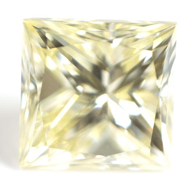 【R-Sカラー】 イエローダイヤモンド ルース 0.310ct, Light Yellow, VS-1, プリンセスカット 【D~Zカラーまで集めてみませんか!】
