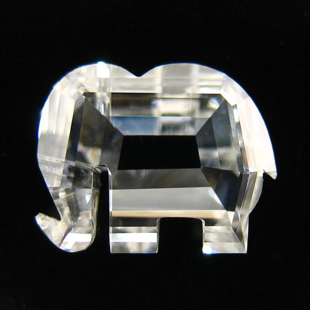 象さん ( エレファント ) ダイヤモンド ルース 1.169ct 【 象さんの形のダイヤです 】