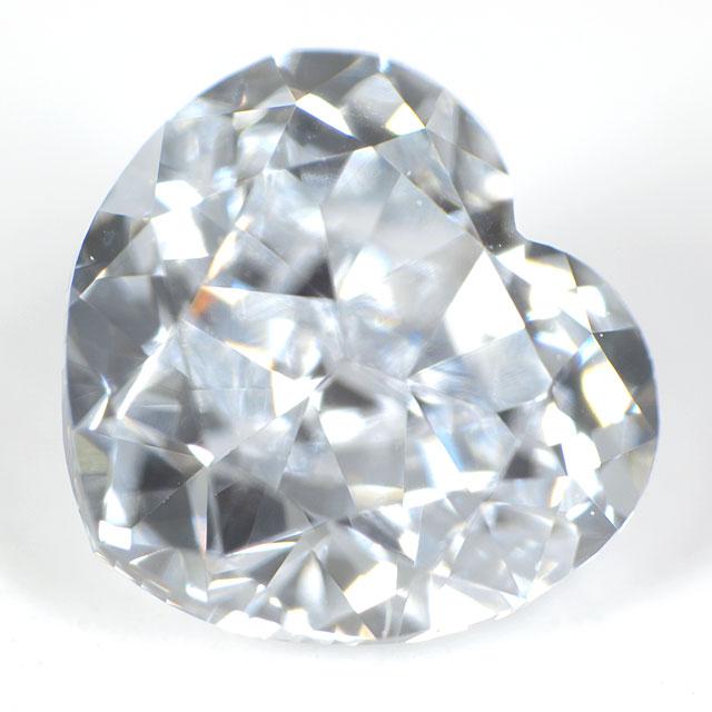 ブルーダイヤモンド ハートシェイプ