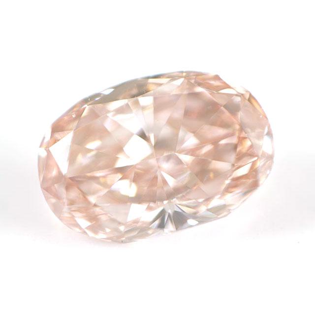 天然ピンクダイヤモンド ルース(裸石) 0.19ct 【 GIA と AGTジェムラボラトリー 】 オーバル 【 送料無料 】