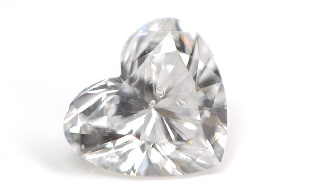 ハートシェイプダイヤモンドルース