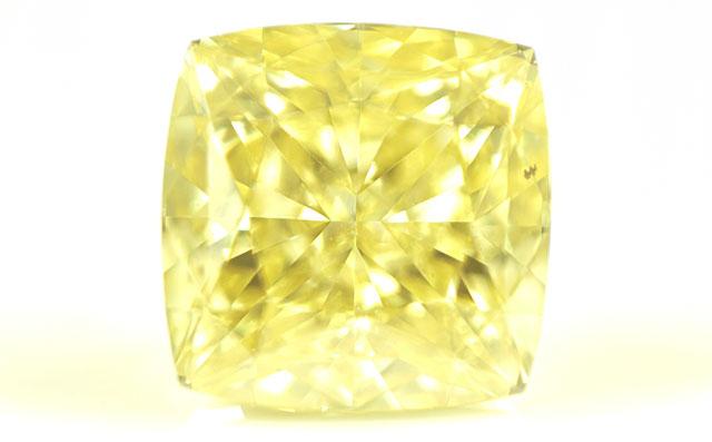 天然イエローダイヤモンド ルース(裸石) 0.36ct, Fancy Intense Yellow(ファンシー・インテンス・イエロー), VS2 【 GIAレポート付 】 【 送料無料 】