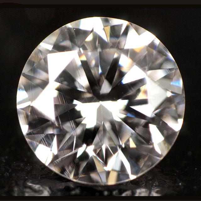 天然ピンクダイヤモンド ルース(裸石) 0.334ct, VS-2,フェイントピンク 【 中央宝石研究所ソーティング袋付 】 【 送料無料 】