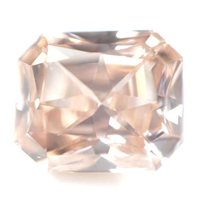 天然オレンジダイヤモンド ルース 0.320ct, SI-1,  【タイプ2-a型のレア・オレンジ・ダイヤモンド】 【 中央宝石研究所 】 【 送料無料 】